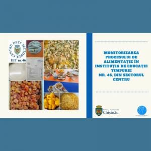 Monitorizarea procesului de alimentație în IET nr.46 din sectorul Centru