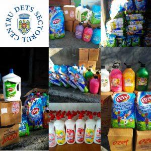 Repartizarea produselor sanitaro-igienice in instituțiile de educație timpurie din sectorul Centru